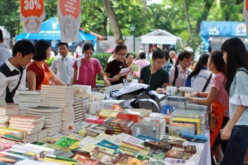 Hội sách mùa Thu 2016 diễn ra từ ngày 9-13/9 tại Hà Nội