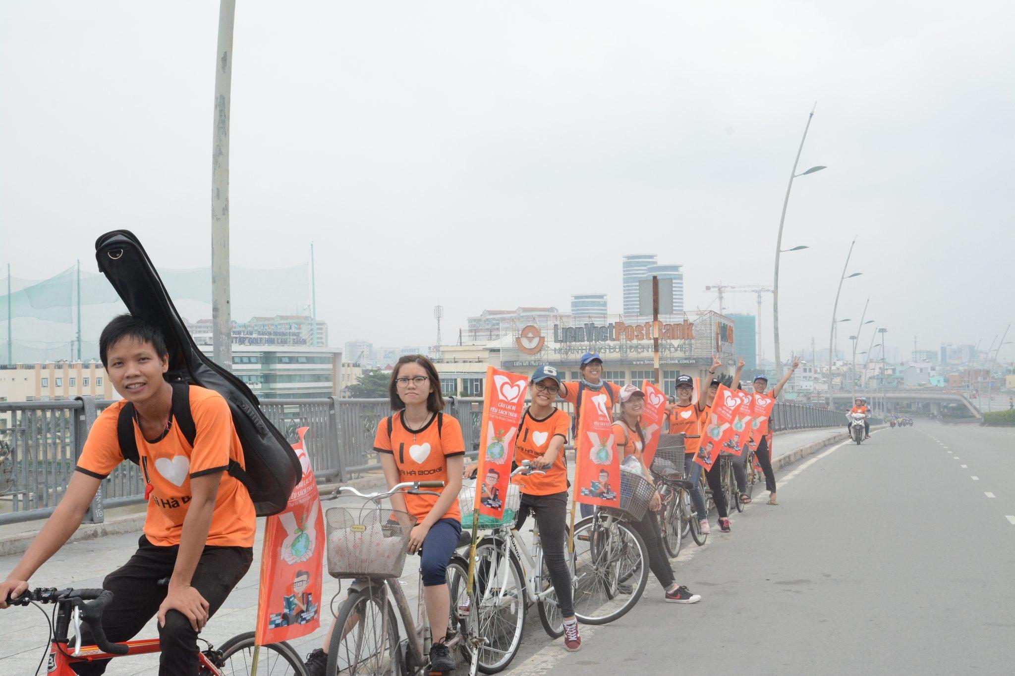 TP HCM, 9h00, Chủ nhật ngày 16.10.2016 – Chương trình đạp xe cùng Clb Yêu Sách Thái Hà Tp.HCM