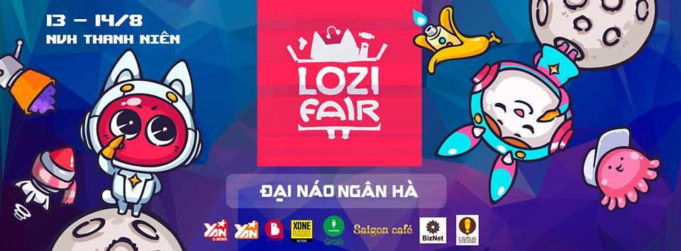 TP HCM ngày 13-14/08/2016 Thái Hà Books tham gia hội chợ Lozi Fair – Đại Náo Ngân Hà