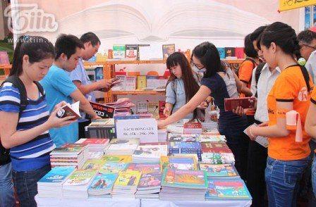 Giới trẻ Sài thành hào hứng tham gia Ngày đọc sách