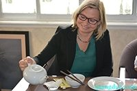 Chuyện ăn chay của bà Claudia Kaiser phó chủ tịch hội sách lớn nhất thế giới Frankfurt Book Fair