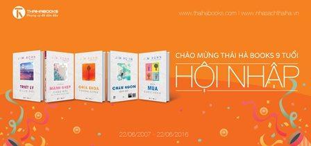 Cuộc thi chào mừng sinh nhật lần thứ 9 của Thái Hà Books