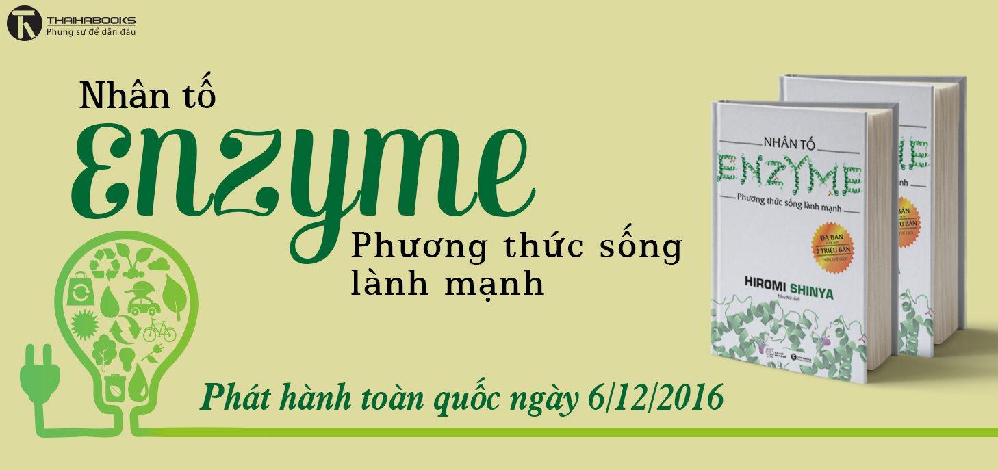"""Thaihabooks: 06/12/2016 sẽ phát hành """"Nhân tố Enzyme"""" của tác giả Hiromi Shinya."""