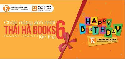 Tuần lễ sách Thái Hà – Mừng sinh nhật Thaihabooks lần thứ 6 (22/6/2007 – 22/6/2013)