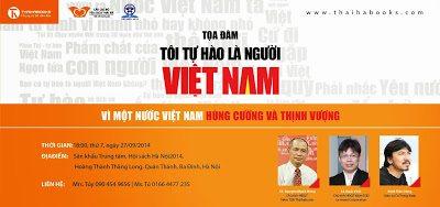 Chương trình tọa đàm Tôi tự hào là người Việt Nam