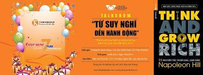 """TALKSHOW """"TỪ SUY NGHĨ ĐẾN HÀNH ĐỘNG – Think and Grow Rich và những bài học dành cho sinh viên Việt Nam"""""""