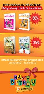 Thái Hà Books mừng sinh nhật 8 tuổi của Sách Hà Nội