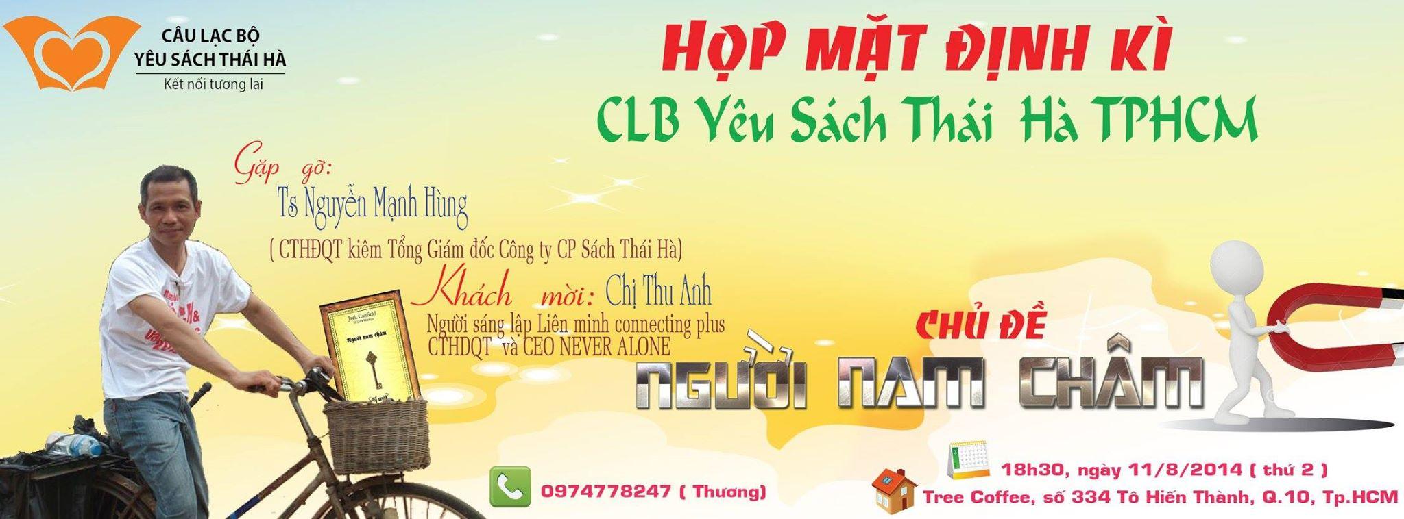 Đọc sách và ứng dụng cùng CLB Yêu Sách Thái Hà Hồ Chí Minh