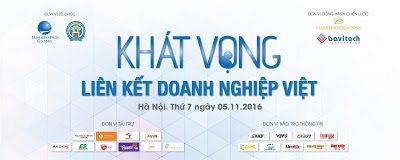 09h00, ngày 05/11: Chương trình Khát vọng kết nối doanh nghiệp Việt