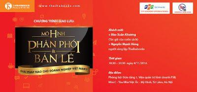 """Hà Nội, ngày 04/11 – Chương trình giao lưu """"Mô hình phân phối và bán lẻ"""""""