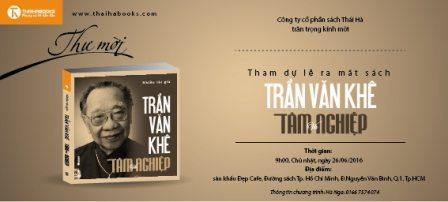 """Chương trình ra mắt sách: """"Trần Văn Khê – Tâm và Nghiệp"""""""