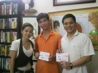 """Buổi trao giải cuộc thi """"Thái Hà Books và tôi"""""""