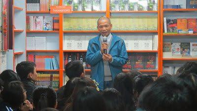 Chương trình giao lưu: TS. Nguyễn Mạnh Hùng và sinh viên quốc tế Singapore