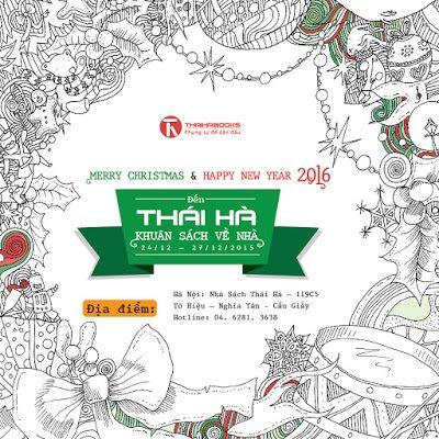Đến Thái Hà khuân sách về nhà – chương trình từ ngày 24/12 đến 27/12/2015