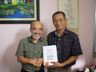 GS Đặng Hùng Võ – Nguyên Thứ trường Bộ Tài Nguyên – Môi trường đến thăm và giao lưu với Thái Hà Books