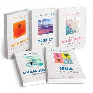 Thái Hà Books ra mắt bộ sách của Jim Rohn