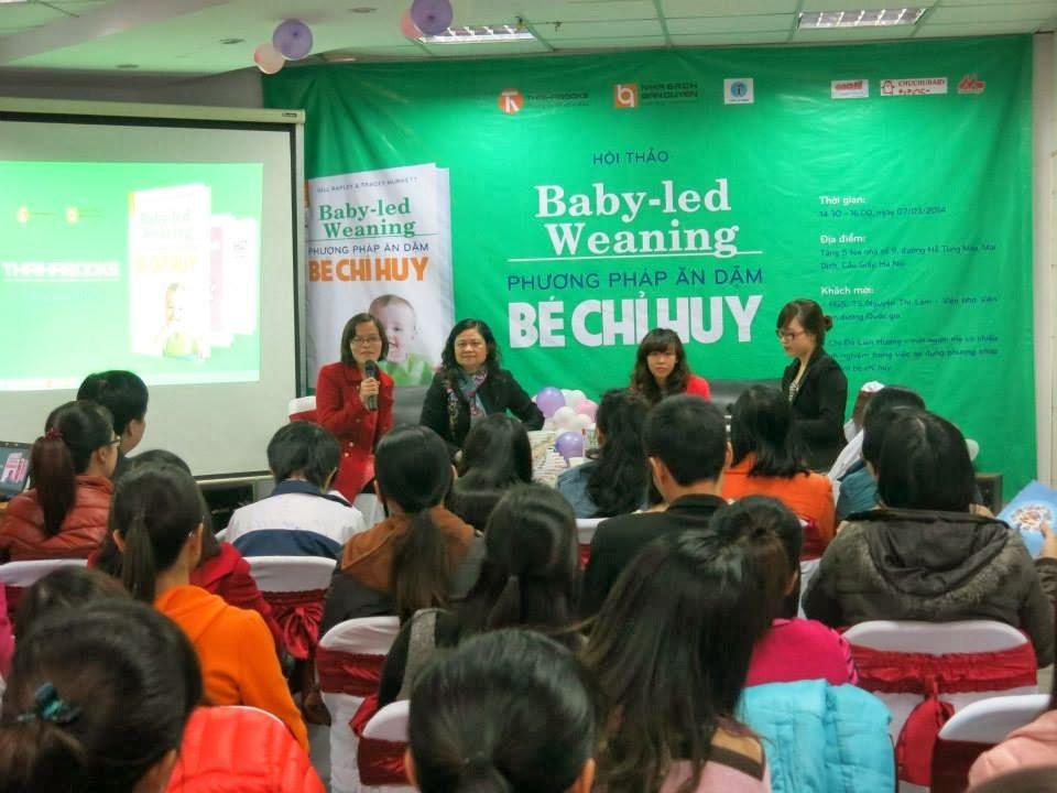 Hội thảo Phương pháp ăn dặm bé chỉ huy Baby-Led Weaning đã được tổ chức thành công