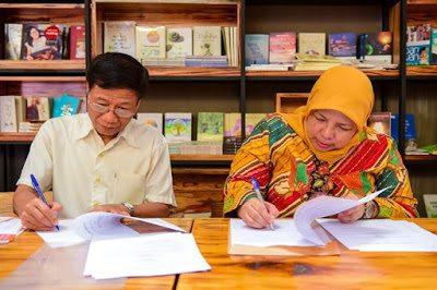 Hội Xuất bản Việt Nam và Indonesia ký kết hợp tác