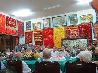 Thaihabooks tham dự tiệc mừng sinh nhật đại tướng Võ Nguyên Giáp