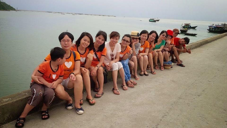 Thaihabooks và kỳ nghỉ ấn tượng trên đảo Cô Tô