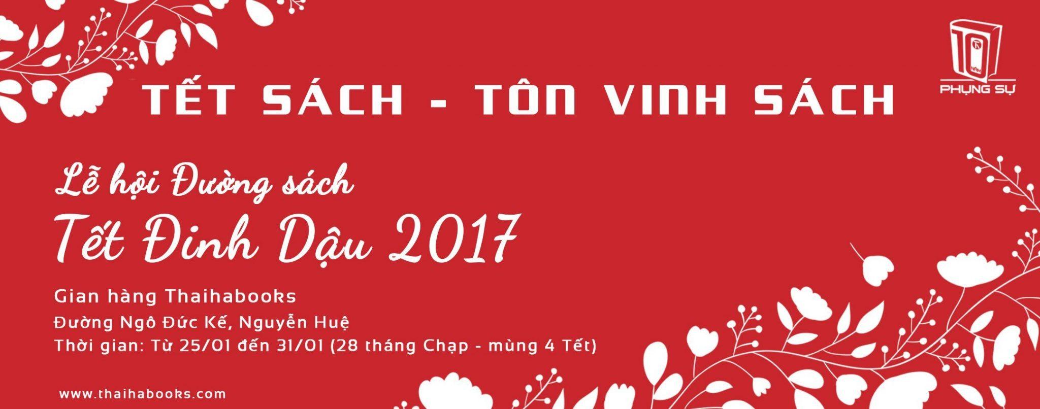 TP.HCM- Lễ hội Đường sách Tết Đinh Dậu 2017