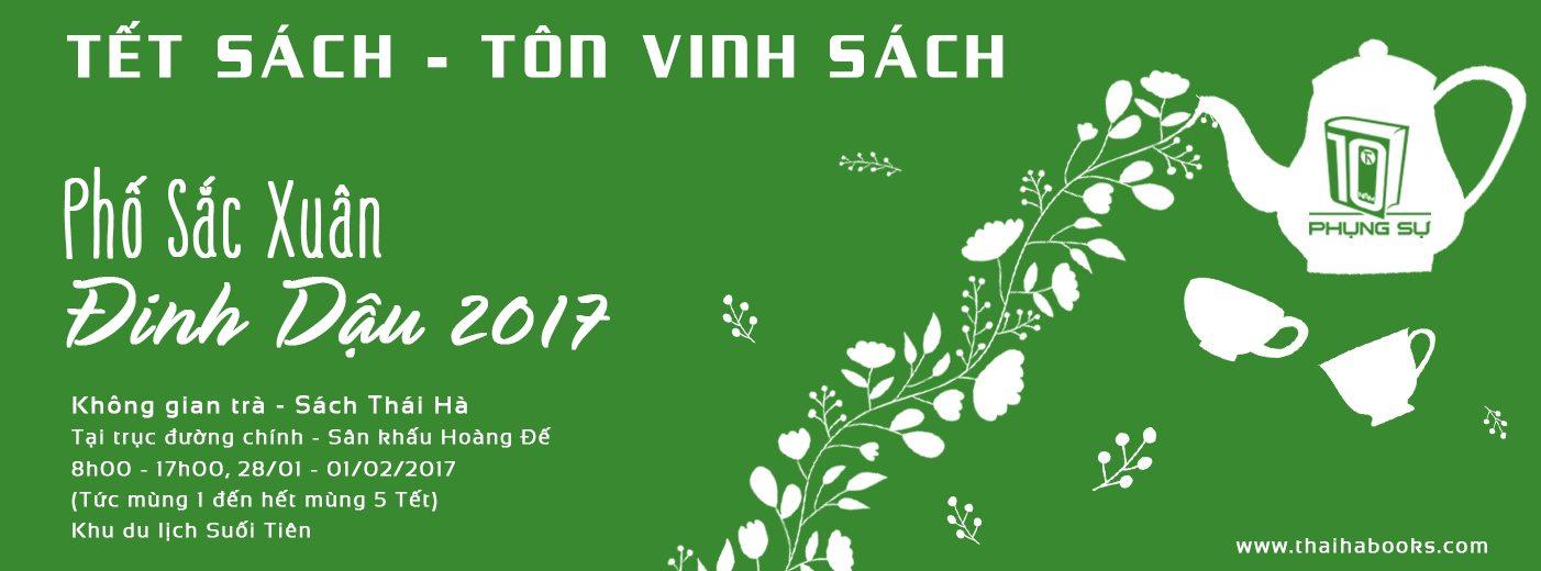 """TP.HCM- Thái Hà Books tham dự """"Phố Sắc Xuân 2017"""" tại Khu du lịch Suối Tiên"""