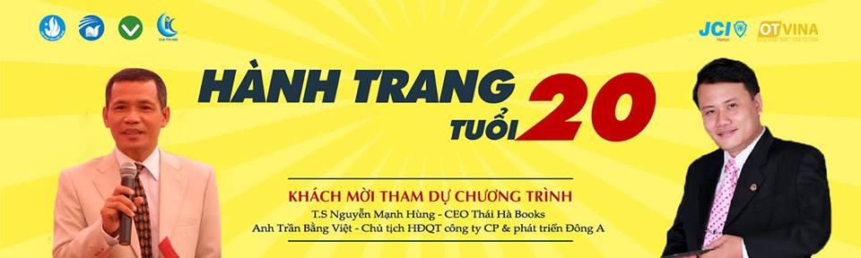 """Ngày 19/3/2016 """"Hành Trang Tuổi 20"""" – Reading Tour Thái Hà Books đến Thái Nguyên"""