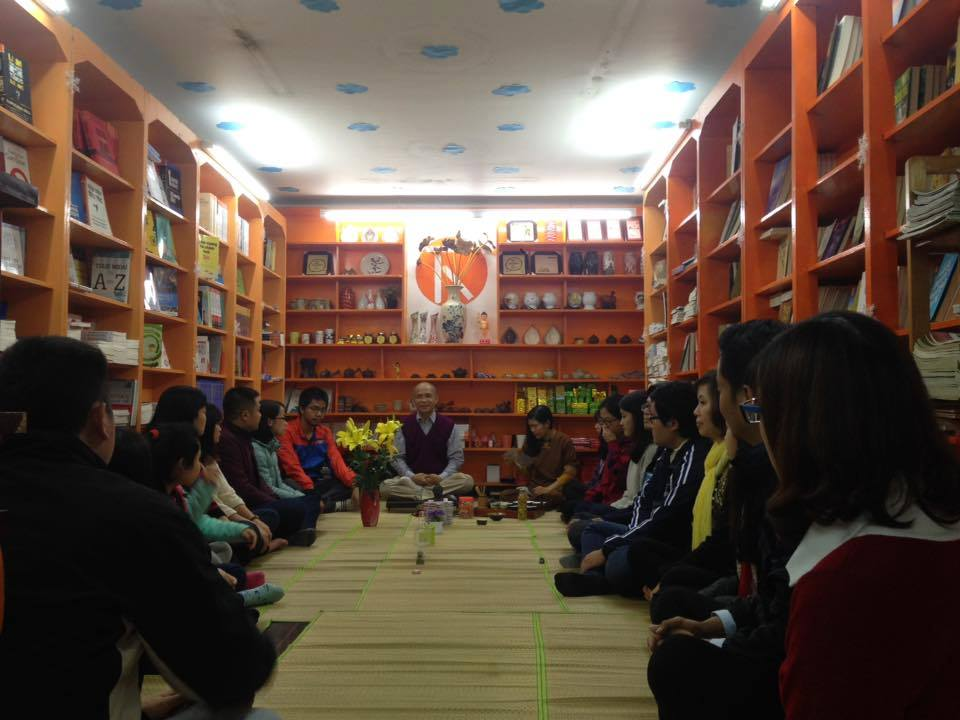 Reading tour buổi 3 và 20/03/2017 Sinh hoạt CLB Yêu sách Thái Hà