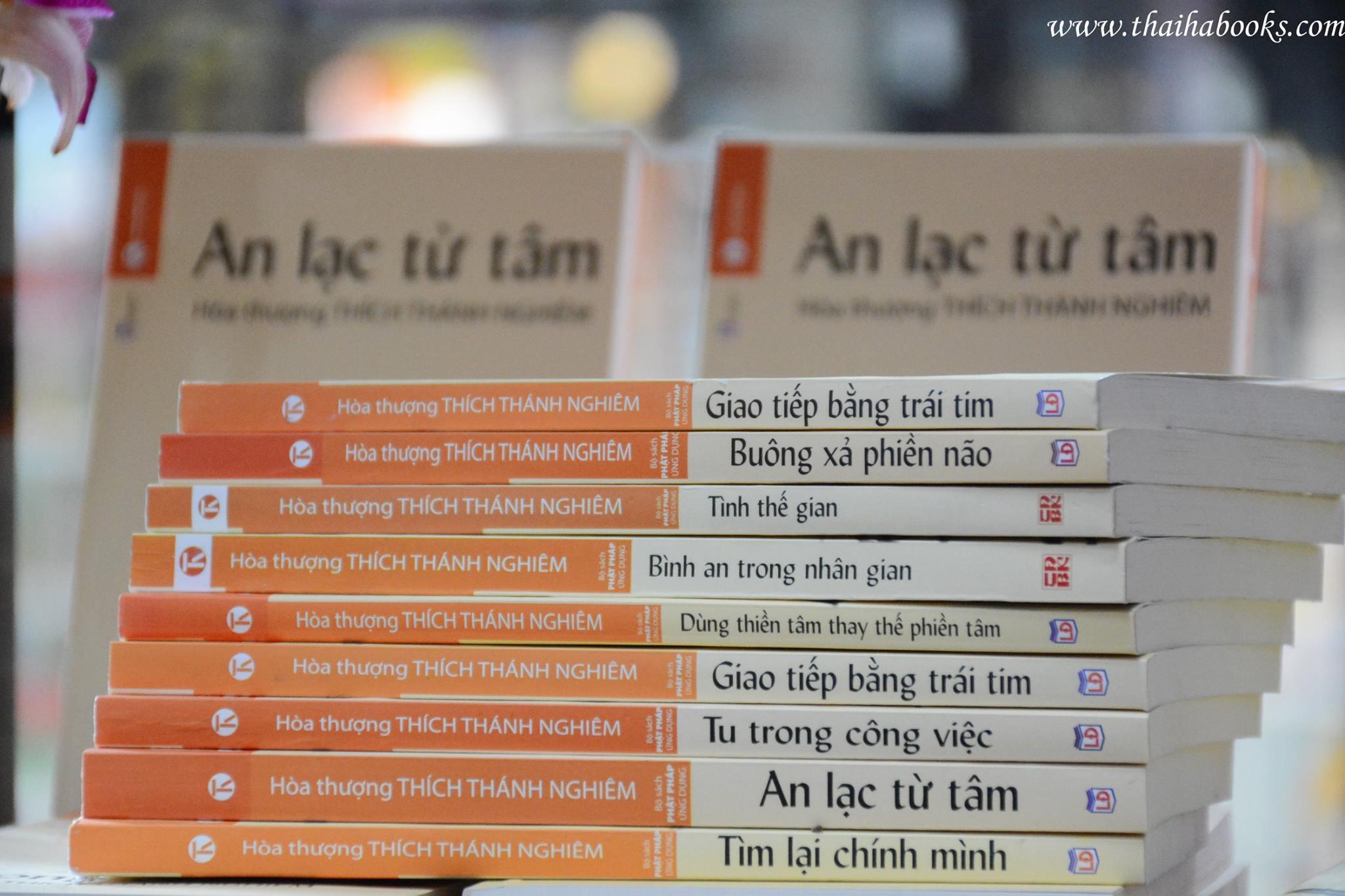 """14h00, Ngày 28/3/2017 Reading Tour Thái Hà Books 2017 – Chương trình số 6, chủ đề """"BÌNH AN TRONG NHÂN GIAN"""""""