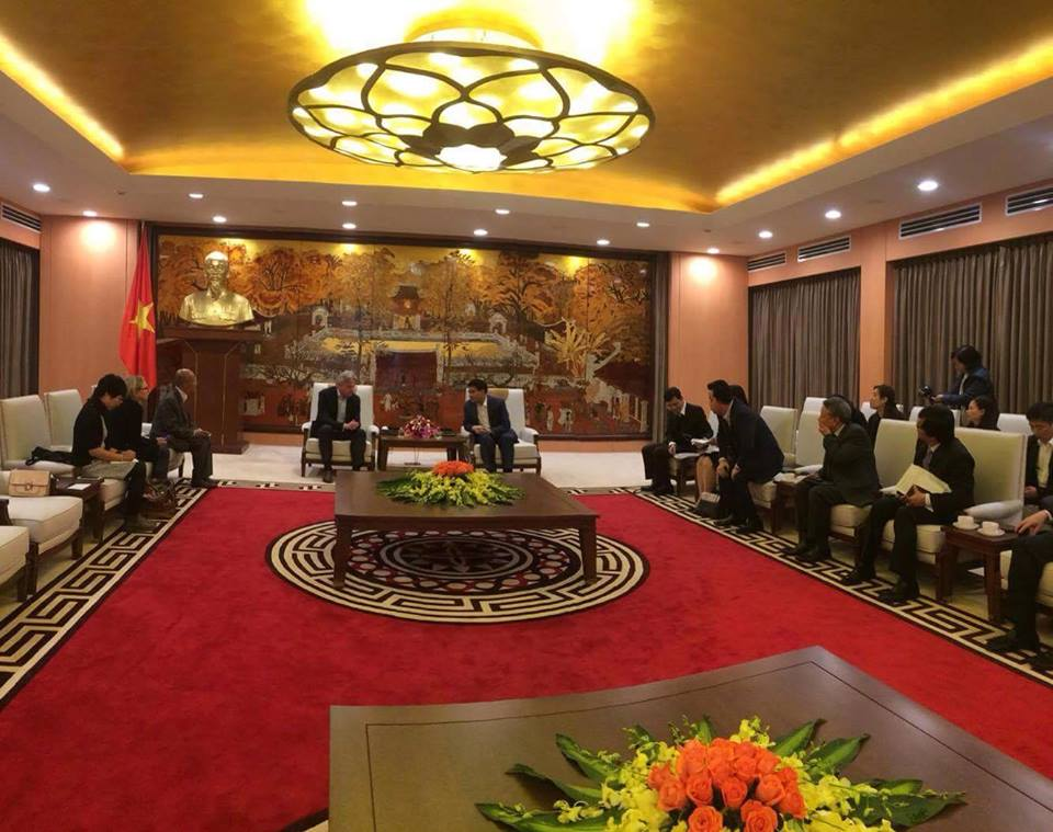 Chuyến thăm Việt Nam của Chủ tịch Frankfurt Book Fair Juergen Boos đã thành công tốt đẹp