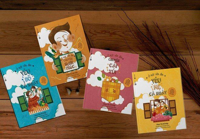 Mẹ Đỗ Nhật Nam ra sách tranh song ngữ