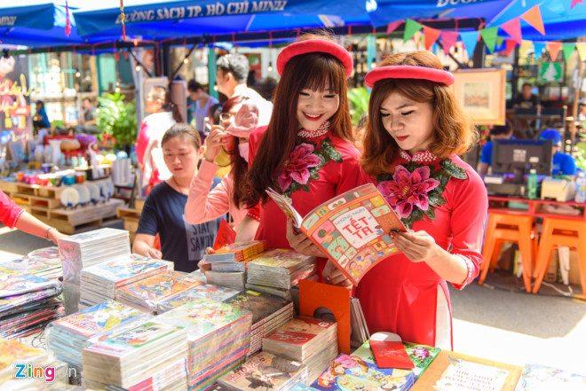 Nhiều hoạt động kỷ niệm Ngày sách Việt Nam tại đường sách TP.HCM