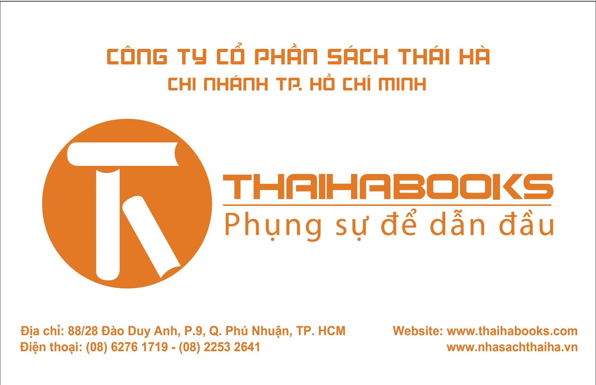 [ThaiHaBooks] THAY ĐỔI ĐỊA ĐIỂM CHI NHÁNH THÁI HÀ BOOKS TP. HỒ CHÍ MINH