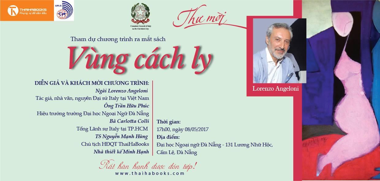 """Ra mắt sách """"VÙNG CÁCH LY"""" tại Hà Nội, Huế, Đà Nẵng, Tp.HCM – reading tour số 22,23,24, 25"""