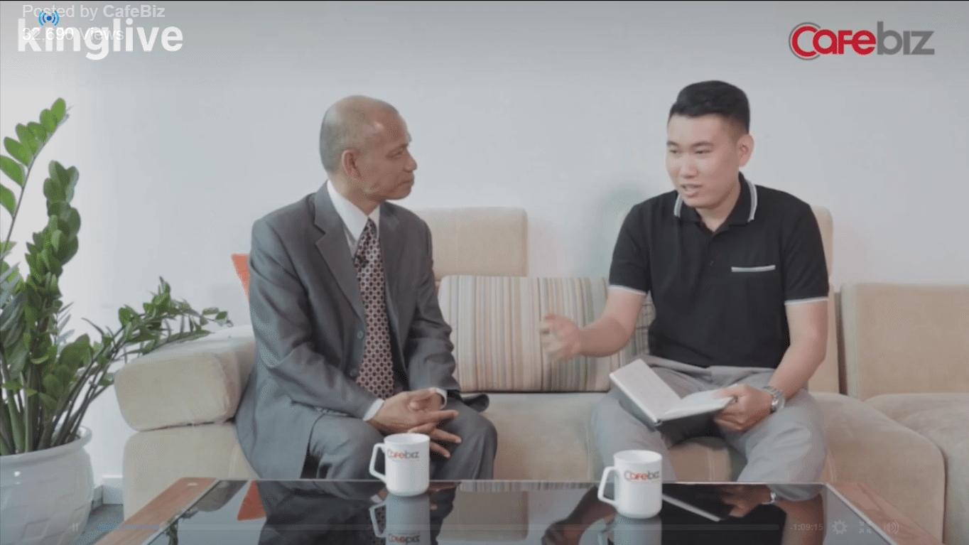 Cafe8 – Chương trình livestream độc quyền với TS. Nguyễn Mạnh Hùng
