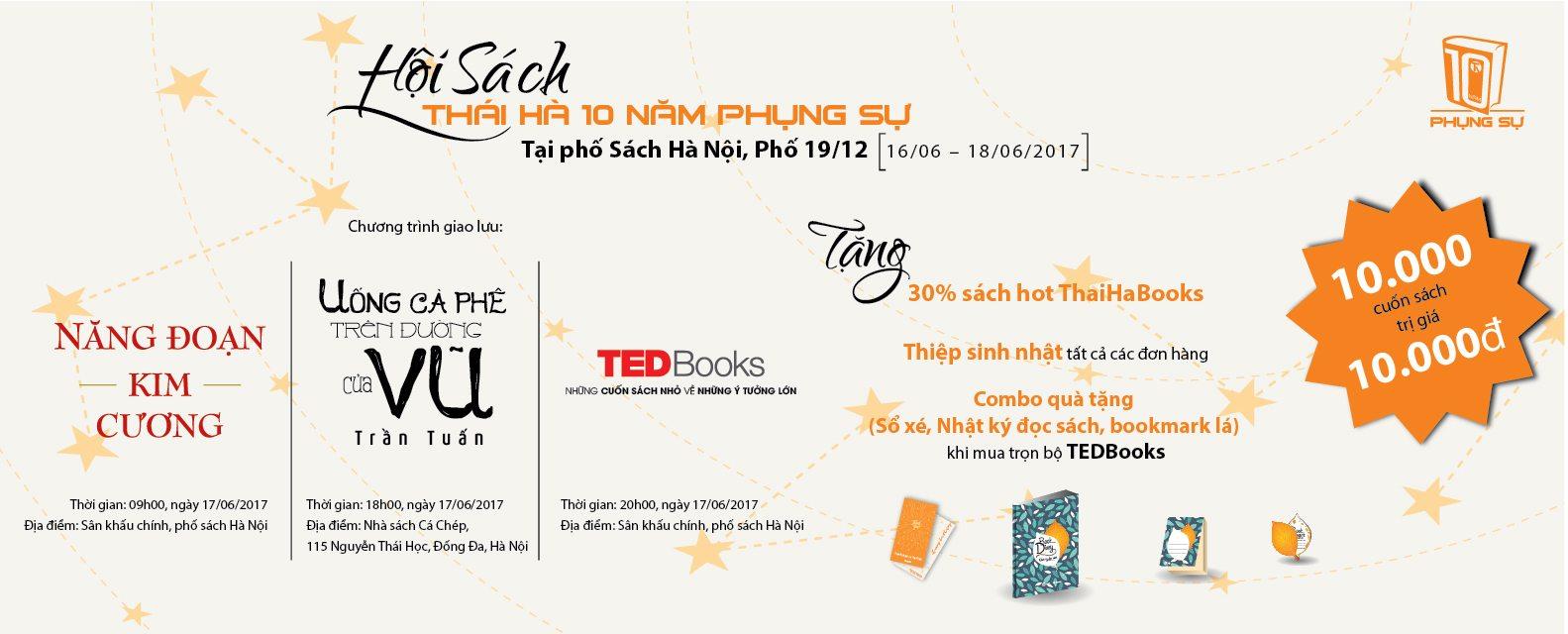 Hoi sach Thai Ha 10 nam