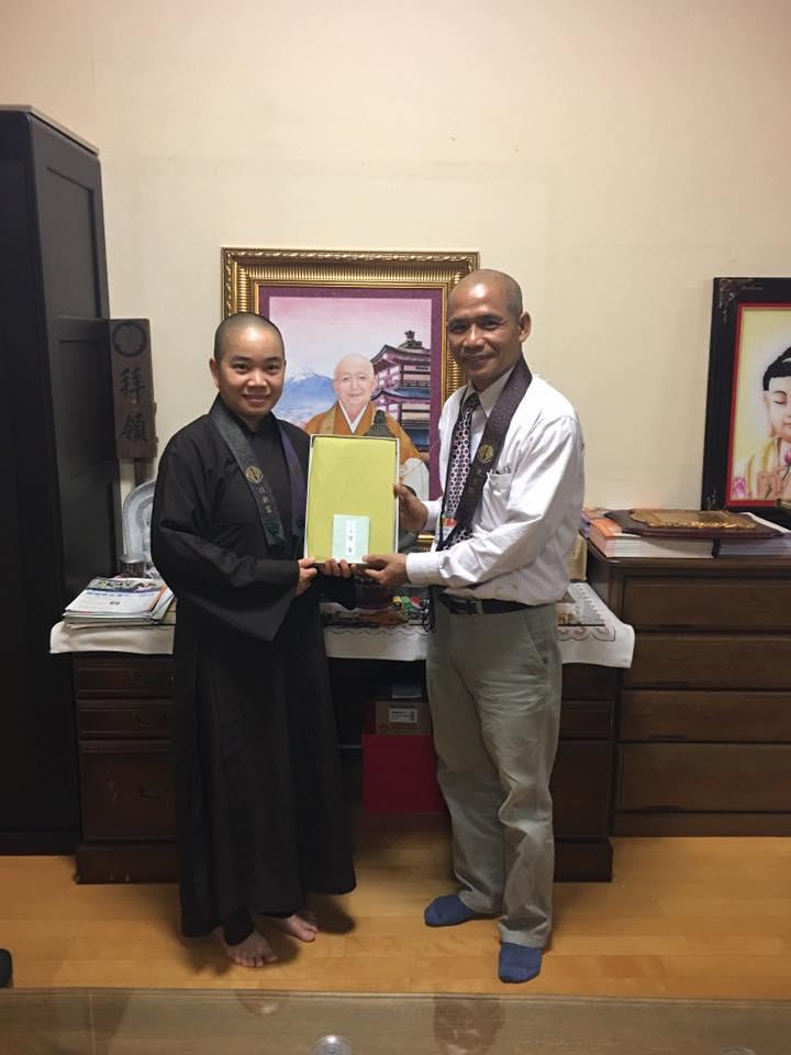 Tiến sỹ Nguyễn Mạnh Hùng đến nói chuyện và hướng dẫn thiền tại chùa Nisshin Kutsu, Thủ đô Tokyo