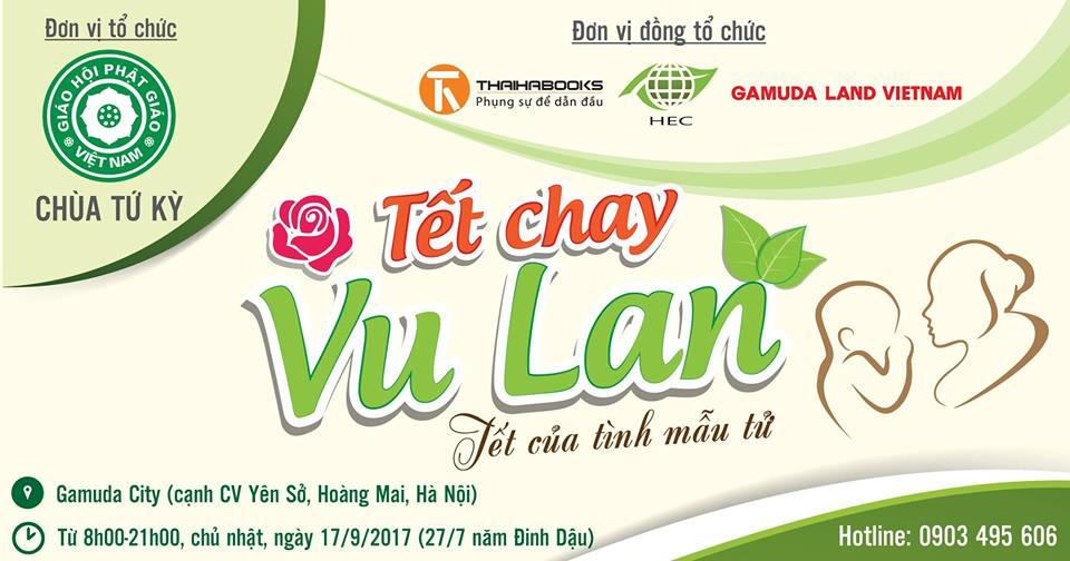 Tết Chay Vu Lan sẽ chính thức diễn ra ngày 17 tháng 9 tại Hà Nội