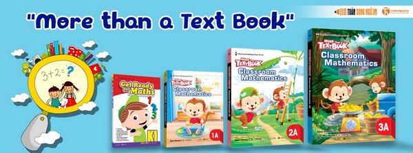Thái Hà Books độc quyền phát hành bộ sách giáo khoa toán tiểu học Singapore tại Việt Nam