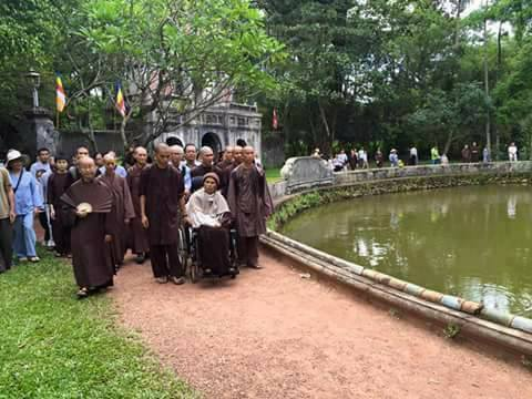 Những điều chưa biết về chuyến thăm Việt Nam năm 2017, 9 ngày của Thầy Nhất Hạnh