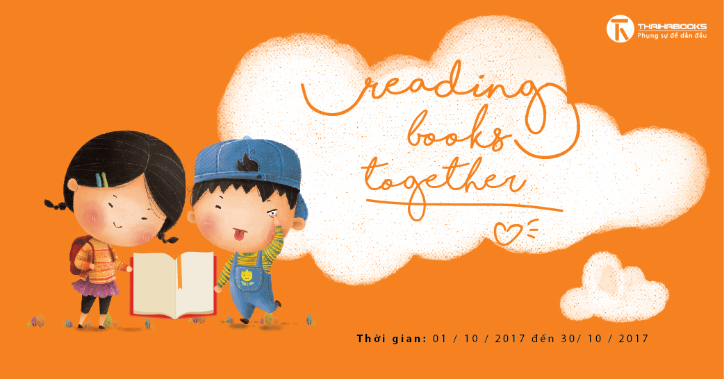 18h00 – 20h00, ngày 22/09/2017 Reading Books Together số 01