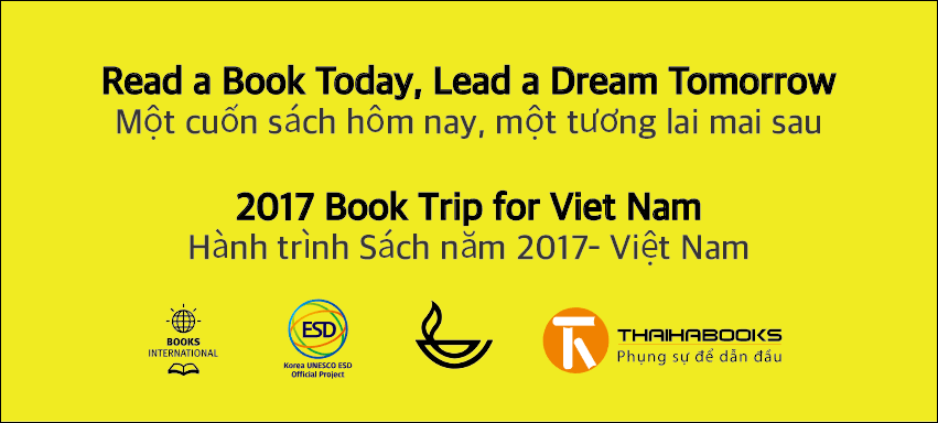 Ngày 02/11 – 03/11: Hành trình Sách năm 2017 tại Việt Nam