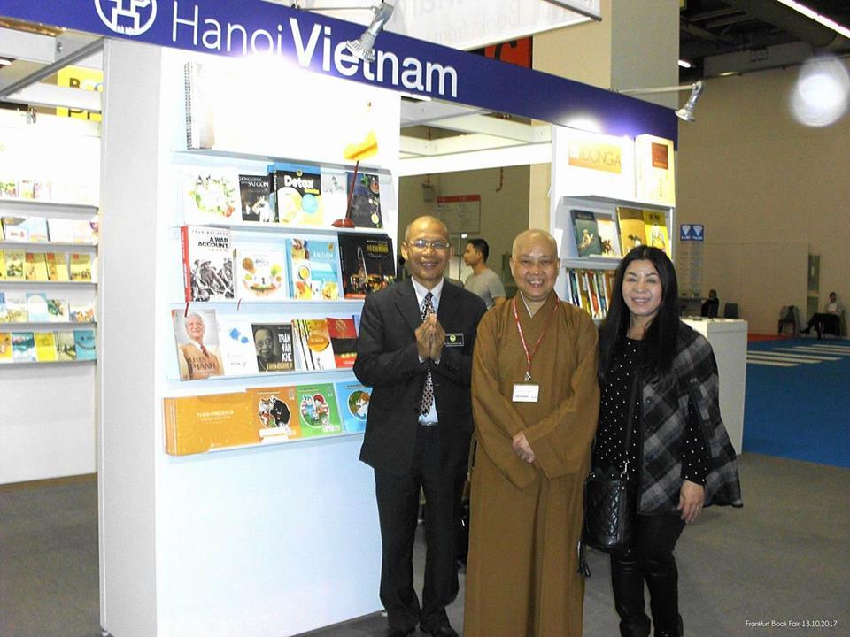 Văn hóa Phật giáo tại hội sách Frankfurt Book Fair lớn nhất thế giới 2017