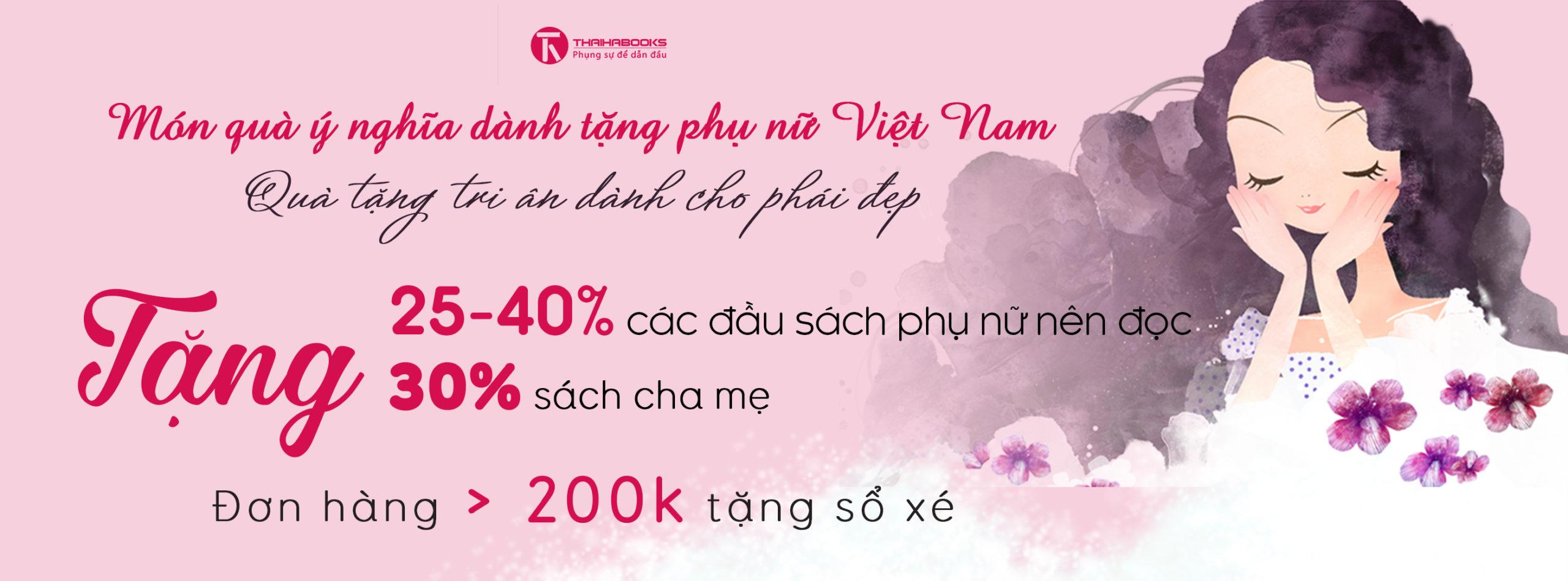 Món quà ý nghĩa dành tặng phụ nữ Việt Nam nhân dịp 20.10