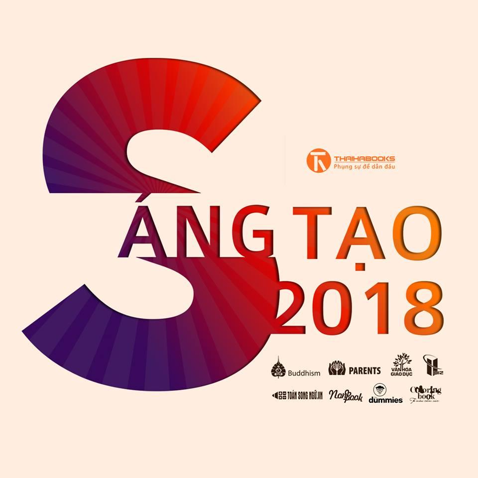 Thaihabooks: slogan 2018 – SÁNG TẠO