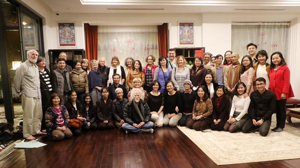 Đầu năm 2018 đón bạn đạo từ khắp thế giới đến Việt Nam hành hương