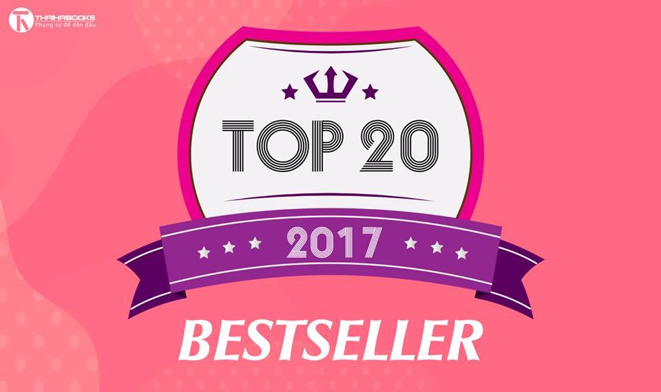 THAIHABOOKS – 20 ĐẦU SÁCH BÁN CHẠY NĂM 2017