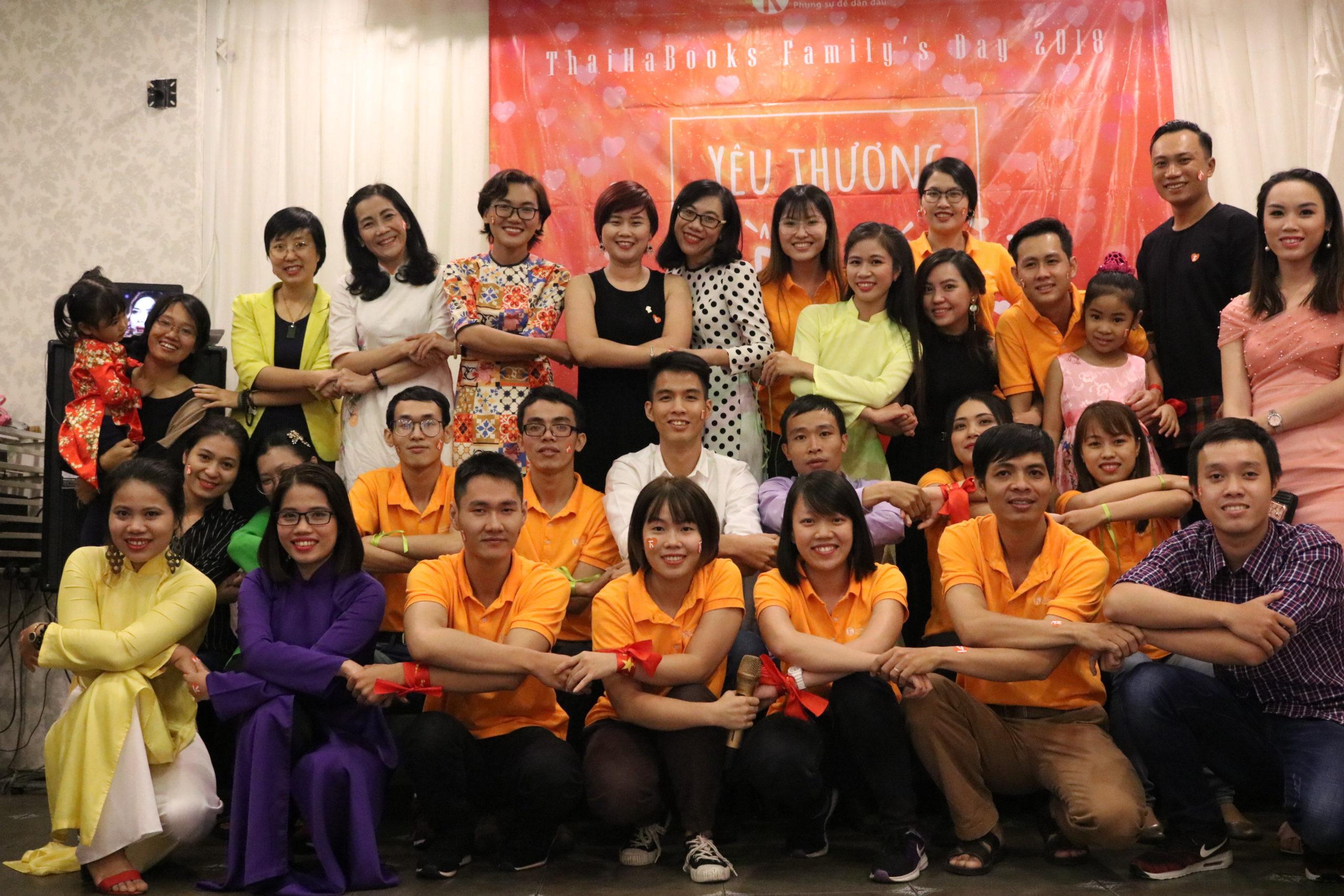 Family's Day: ThaiHaBooks Hồ Chí Minh – tiếp bước và phát triển!