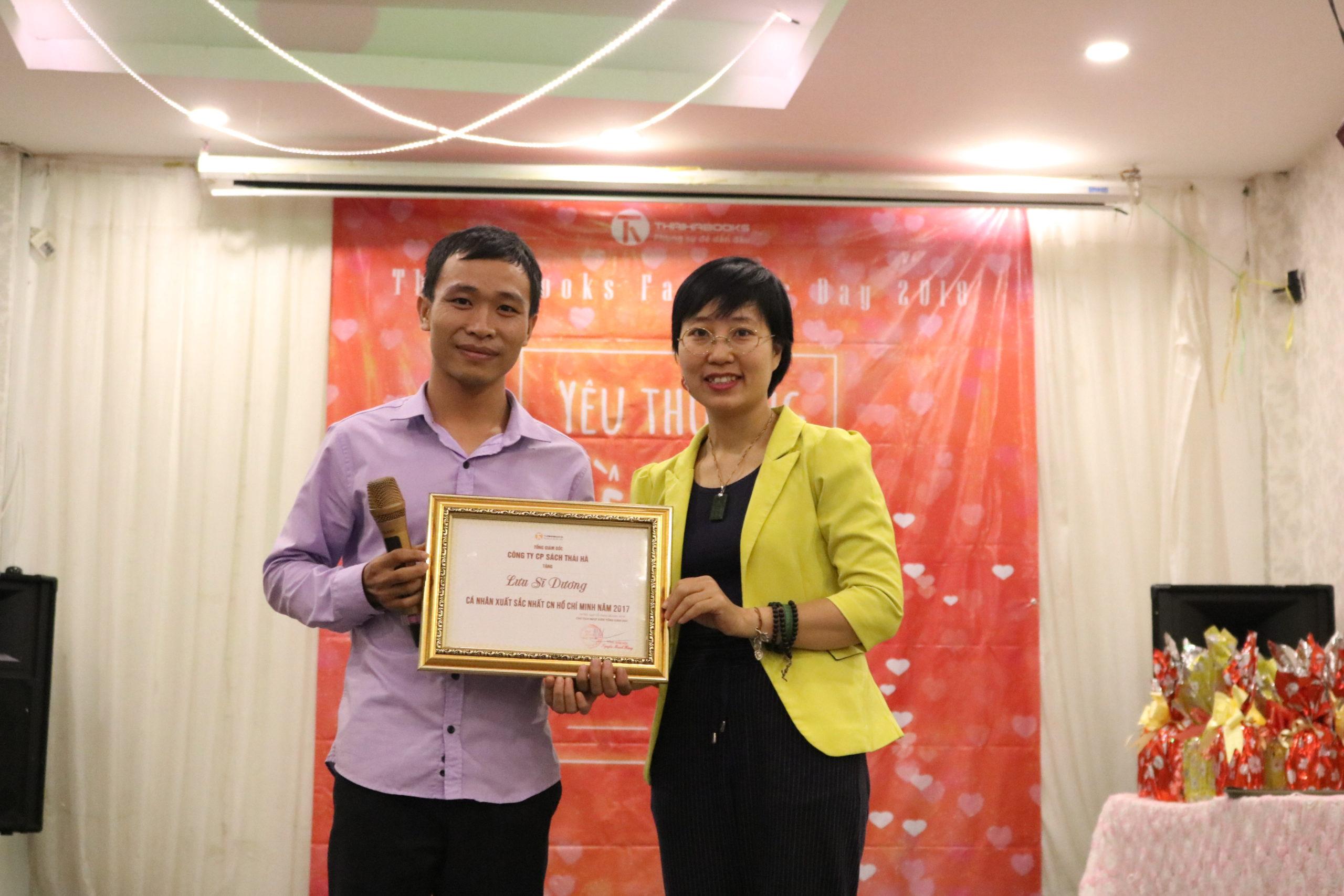 Lưu Sĩ Dương – Cá nhân Hồ Chí Minh xuất sắc nhất năm 2017