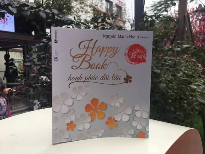 """15h00 ngày mùng 3 Tết (18/02/2018) Chương trình giao lưu lì xì sách """"Happy Book – Hạnh phúc dài lâu"""""""